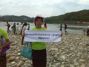 the MRJ and locap people did themselve anti-dam event even the irrawaddy marcher cancel the event.